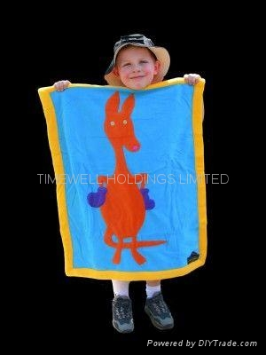 kids 100% polyester polar fleece blanket 3