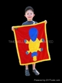 kids 100% polyester polar fleece blanket 4