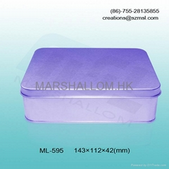 rectangular tin boxes for chocolate,biscuit,snacks