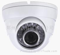 郑州百万高清半球网络摄像机