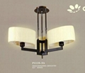 2012 Modern Fabric Hanging Pendant Light, Used for Home Decoration