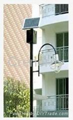 30Wp Single-lamp Solar Garden Light