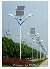 120Wp*2pcs Solar LED Street Light