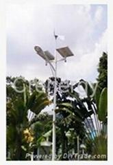 Wind-Solar LED Street Light