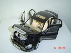 中華轎車仿真模型(1:18)
