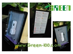 Offset printing packaging box with inner tray for electronic accessories