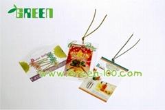 Plastic labels for gift/garment