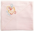 cotton terry reactive printed bath towel