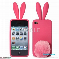 Fashion hot selling silicone case for Iphone 4G