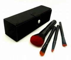 Cosmetic Brush Set with Convenient Bag