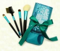 Elegant Cosmetic Brush Set