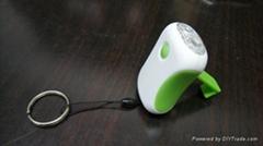 LED迷你手搖手電筒