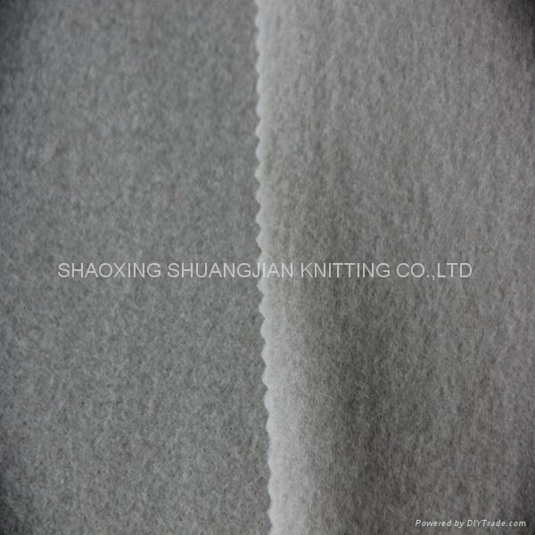 100% Polyester Micro Anti pilling Polar Fleece Fabric 2