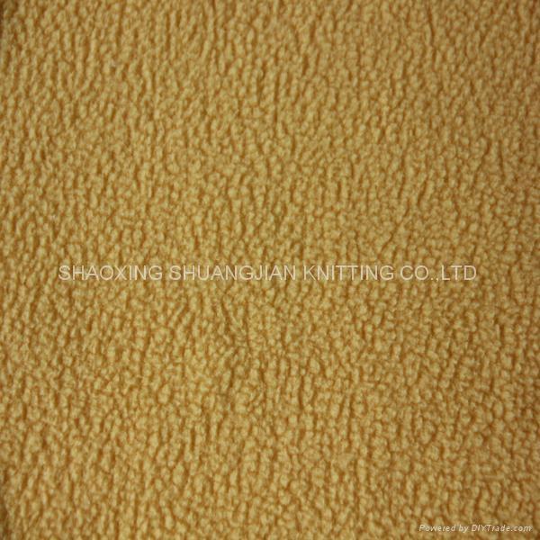 100% Polyester Micro Anti pilling Polar Fleece Fabric 1