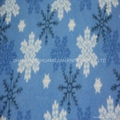 100% Polyester Two Sides Brush Wholesale Fleece Fabric 3