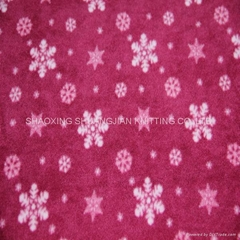100% Polyester Two Sides Brush Wholesale Fleece Fabric