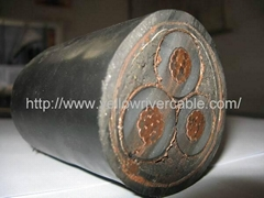 HV Cu/XLPE/PVC/STA Power Cable