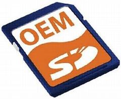 Real capacity SD card for digital camera