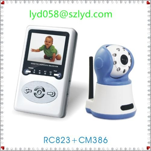 2012 professional security system for baby monitor 1