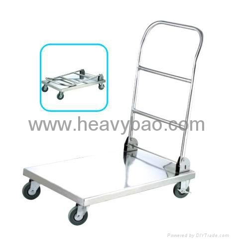 Stainless Steel Platform Trolley(folding type) 1