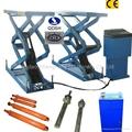 Scissor hydrualic car lifts QDSH-S2716A
