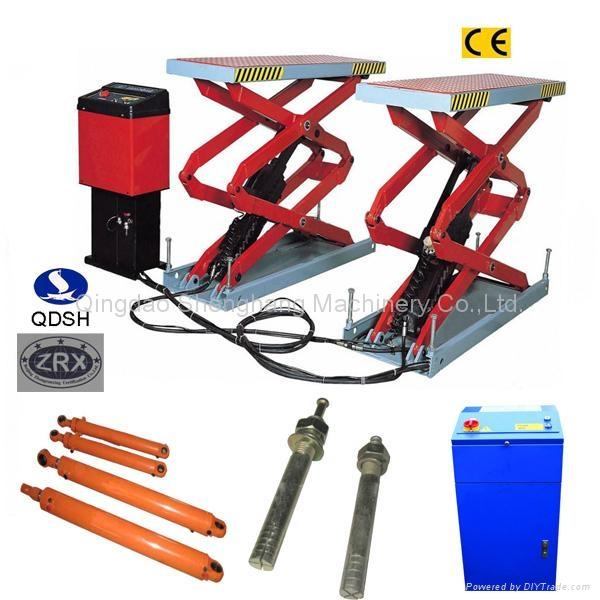 Scissor car lift QDSH-S2018A 2000kgs 1800mm 1