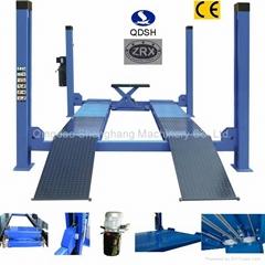 Four posts hydraulic car lift QDSH-F5000 5000KGS