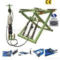 Movable scissor car lift QDSH-S2710