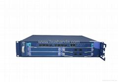 Fiber Optic Transmission Product/EPON OLT, Supports Online Upgrading