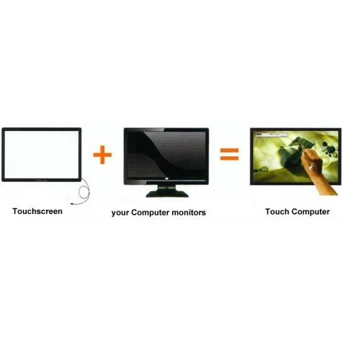 32 inch multi touch infrared touch screen panel 4
