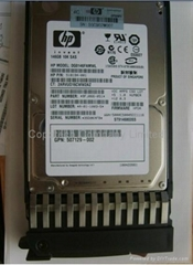 HOT SALE 507125-B21 SAS 146GB 6G 10K Rpm 2.5'' Hp Hard Disk