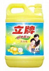 立牌柠檬超洁洗洁精