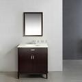 Solid Wood Bathroom Vanity S-3021