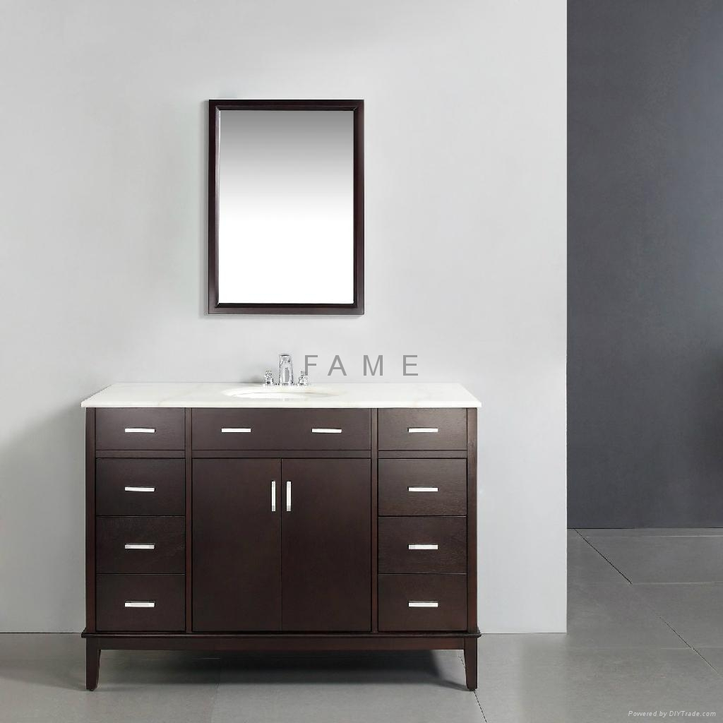 Solid Wood Bathroom Vanity S 3023 China Manufacturer