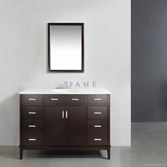 Solid Wood Bathroom Vanity S-3023
