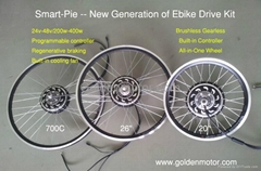 ebike kit/bicycle motor kit 24v-48v 200W-400W