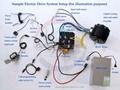 brushless DC Motor/Electric car kit/outboard kit