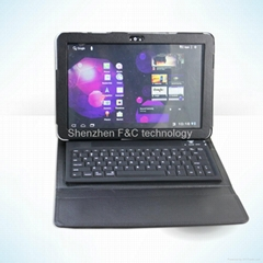 Hot selling keyboard case for Samsung Galaxy Tab10.1""
