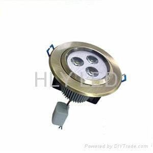 LED down light high power 3*3W 1