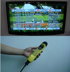 portable magic sing digital microphone karaoke player