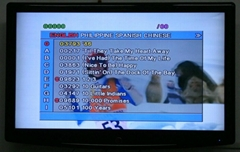 Mediacom karaoke player with songs built-in pack