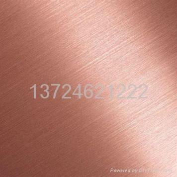 供應不鏽鋼拉絲裝飾板 3