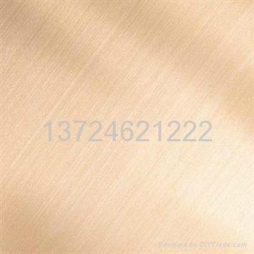 供應不鏽鋼拉絲裝飾板 4