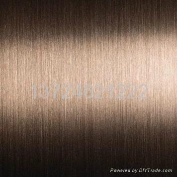 供應不鏽鋼拉絲裝飾板 5