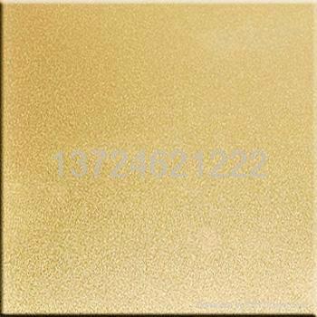 供應不鏽鋼噴砂裝飾板 5