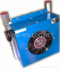 hydraulic air-cooled oil cooler