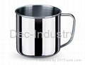 Small stainless steel cup (without lid)