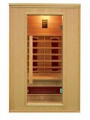 New hemlock infrared sauna for two peopele