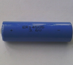 ER14505-2400mAh with 3.6V Rated Voltage