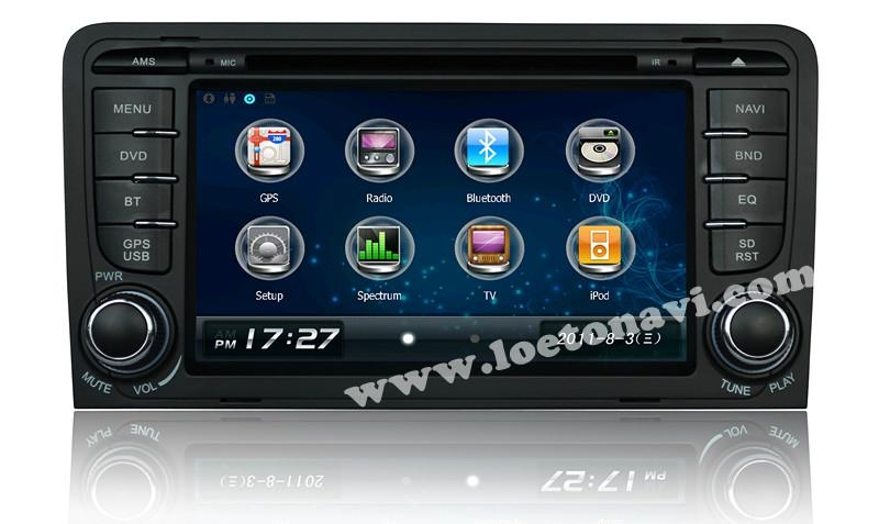 car navigation for Audi A3 1